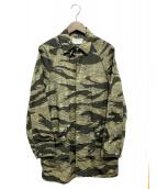 SASSAFRAS(ササフラス)の古着「フォールリーフコート」 オリーブ