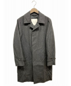 MACKINTOSH PHILOSOPHY(マッキントッシュフィロソフィー)の古着「ショートビーバーステンカラーコート」 グレー