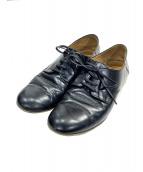 que shoes(キューシューズ)の古着「レースアップシューズ」|ブラック