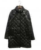 Traditional Weatherwear()の古着「キルティングコート」 ブラック