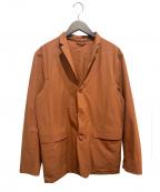 DESCENTE PAUSE(デサントポーズ)の古着「ストレッチパッカブルジャケット」 ブラウン