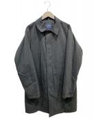 BEAMS(ビームス)の古着「ダーミザクス撥水3WAYステンカラーコート」 グレー