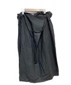 nest Robe(ネストローブ)の古着「コットンリネンスカート」|ブラック
