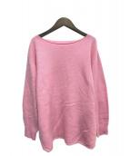 Plage(プラージュ)の古着「ファインウールプルオーバー」 ピンク
