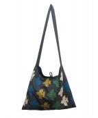 mina perhonen(ミナペルホネン)の古着「sash bag」 グレー