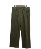 ISSEY MIYAKE(イッセイミヤケ)の古着「5ポケットパンツ」|ベージュ