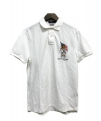POLO RALPH LAUREN(ポロラルフローレン)の古着「ポロベアーポロシャツ」|ホワイト
