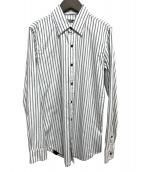Denham(デンハム)の古着「ストライプシャツ」|ブルー