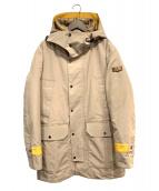 PEUTEREY(ビューテリー)の古着「中綿ライナー付フードコート」|ベージュ