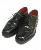 REGAL Shoe&co(リーガル)の古着「ウィングチップシューズ」|ブラック