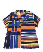 PLEATS PLEASE(プリーツプリーズ)の古着「ポロシャツ」 マルチカラー