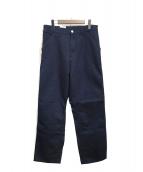 CARHARTT WIP(カーハート)の古着「single knee pant」 ネイビー