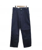 Carhartt WIP(カーハートダブリューアイピー)の古着「single knee pant」 ネイビー