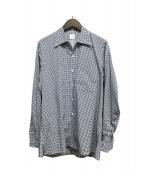 ANATOMICA(アナトミカ)の古着「ドットプリントシャツ」|ブルー