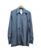 ANATOMICA(アナトミカ)の古着「プリントシャツ」|ネイビー