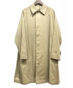 ANATOMICA(アナトミカ)の古着「SINGLE RAGLAN COAT GABARDINE」|ベージュ