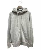 THE(ザ)の古着「Sweat Zip up Hoodie」|グレー