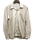 STUDIOUS(ステュディオス)の古着「オープンカラーシャツ」|ベージュ