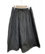 mina perhonen(ミナペルホネン)の古着「papier スカート」 ブラック