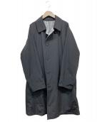 nano・universe(ナノユニバース)の古着「リバーシブルステンカラーコート」|ブラック×グレー