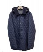 UNITED ARROWS(ユナイテッドアローズ)の古着「キルティングコート」|ネイビー