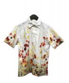 Paul Smith(ポールスミス)の古着「フラワープリントシャツ」 ホワイト