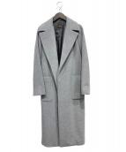 Demi-Luxe BEAMS(デミルクスビームス)の古着「カシミヤ混ラップコート」 グレー