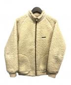Sunny Sports(サニースポーツ)の古着「ボアフリースジャケット」 アイボリー
