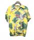 Sun Surf(サンサーフ)の古着「縮緬レーヨンアロハシャツ」|イエロー