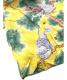 中古・古着 Sun Surf (サンサーフ) 縮緬レーヨンアロハシャツ イエロー サイズ:L 16-16 ¹/₂:5800円