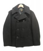 FIDELITY(フィデリティ)の古着「Pコート」|ブラック