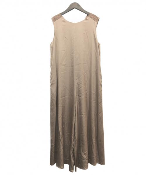 SLOBE IENA(スローブ イエナ)SLOBE IENA (スローブ イエナ) オールインワン ベージュ サイズ:40の古着・服飾アイテム