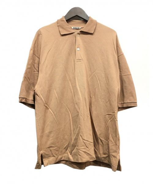 AURALEE(オーラリー)AURALEE (オーラリー) ポロシャツ ベージュ サイズ:4の古着・服飾アイテム