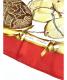 HERMES (エルメス) シルクスカーフ レッド Jardin Creole(クレオルの楽園):15800円