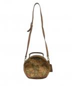 PRIMA CLASSE(プリマクラッセ)の古着「サークルショルダーバッグ」 ベージュ