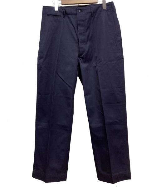ANATOMICA(アナトミカ)ANATOMICA (アナトミカ) テーパードパンツ ネイビー サイズ:W33の古着・服飾アイテム