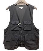 Engineered Garments(エンジニアードガーメンツ)の古着「19AWハンティングベスト」|ネイビー