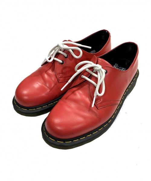 Dr.Martens(ドクターマーチン)Dr.Martens (ドクターマーチン) 3ホールシューズ レッド サイズ:UK8の古着・服飾アイテム