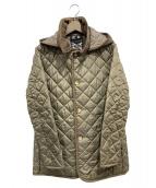 LAVENHAM(ラヴェンハム)の古着「キルティングコート」|ベージュ