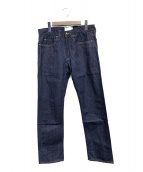 nanamica(ナナミカ)の古着「5pockets Slim Straight Jeans」|インディゴ