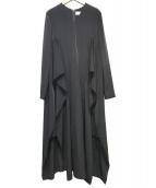 AKIRA NAKA(アキラ ナカ)の古着「サイドスリットマキシワンピ」 ブラック