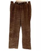 INCOTEX(インコテックス)の古着「テーパードコーデュロイパンツ」 ブラウン
