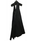 ATON(エイトン)の古着「ジャンパースカート」|ネイビー