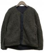 STEVEN ALAN(スティーヴンアラン)の古着「リバーシブルボアジャケット」 グレー