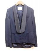 3.1 phillip lim(スリーワン・フィリップ・リム)の古着「デザインテーラードジャケット」|ネイビー