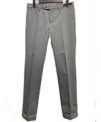 PT01(ピーティーゼロウーノ)の古着「スリムチノパンツ」|グレー