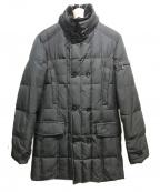 MOORER(ムーレー)の古着「セミロングダウンジャケット」 ブラック
