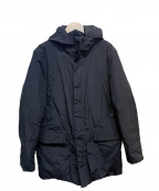 ARMANI JEANS(アルマーニジーンズ)の古着「ダウンコート」|ブラック