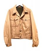 agnes b homme(アニエスベーオム)の古着「裏ボアカバーオール」|ブラウン