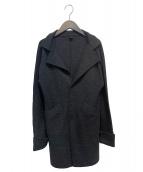 Ys(ワイズ)の古着「ニットコート」 ブラック